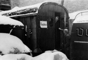 """Die Volksstimme-""""Redaktion"""" 1945"""