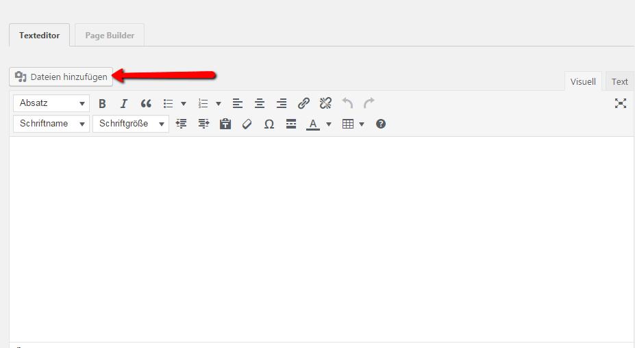 Dateien hinzufuegen
