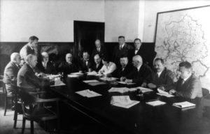 Volksstimme-Redaktion 1933