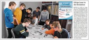 SchmaZ: Ansicht Volksstimme-Artikel über das Bismarck-Gymnasiums Genthin