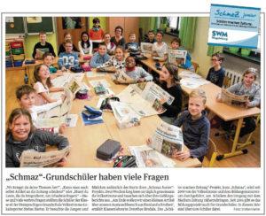 SchmaZ junior: Ansicht Volksstimme-Artikel über die Dreisprachige Grundschule Magdeburg