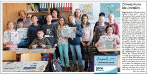 SchmaZ junior: Ansicht Volksstimme-Artikel über die Grundschule Stapelburg