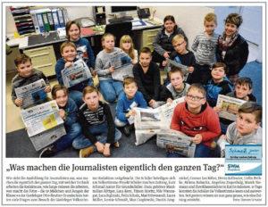 """SchmaZ junior: Ansicht Volksstimme-Artikel über die Grundschule """"Otto Reutter"""" Gardelegen"""