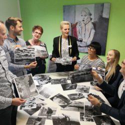 V.l.n.r.: Andreas Kucera, Tino Pfeifer, Cathleen Gröhn, Juliane Splitt, Anett Pommerenke, Isabell Trezza, Ulf Sokolowski. Foto: Anja Jänichen